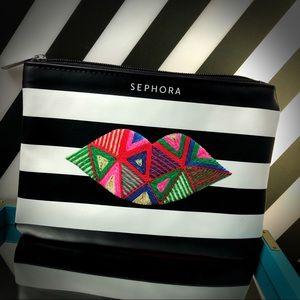 NWOT Limited Edition Large Sephora Makeup Bag